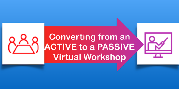 How do you Convert from an active virtual CPNE workshop to a passive workshop image