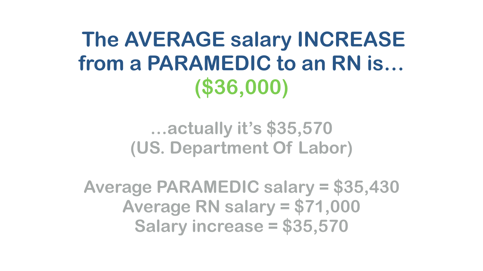 pic of Excelsior CPNE exam salary increase of paramedic after taking test.002